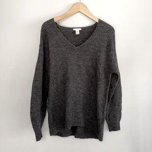 H&M Oversized V-Neck Sweater - Size XS